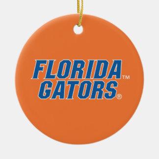 Florida Gators - Blue White Ornament