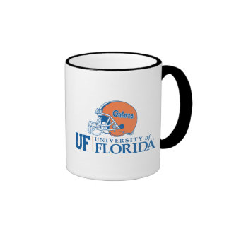 Florida Gators Helmet - Left Ringer Coffee Mug