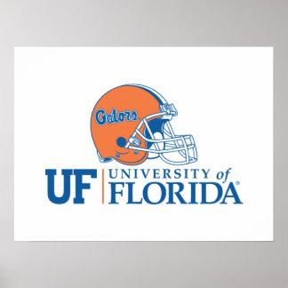 Florida Gators Helmet Poster