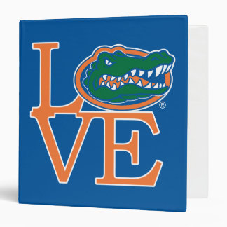 Florida Gators Love 3 Ring Binder
