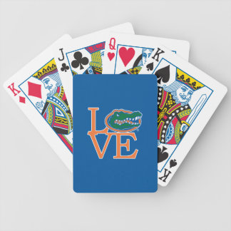 Florida Gators Love Bicycle Playing Cards