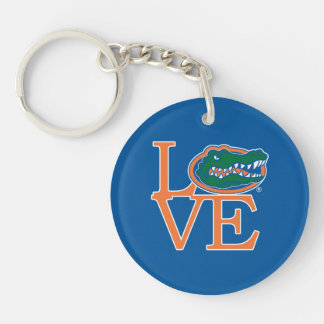 Florida Gators Love Keychain