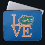 """Florida Gators Love Laptop Sleeve<br><div class=""""desc"""">Zazzle offers the most exciting and unique gear for the ultimate Florida Gator fan! All of our products are officially licensed and customizable, which makes them perfect for students, alumni, family, fans, and faculty. Whether you are gearing up for tailgating, hosting a party for a Florida fan, or decorating your...</div>"""