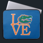 "Florida Gators Love Laptop Sleeve<br><div class=""desc"">Zazzle offers the most exciting and unique gear for the ultimate Florida Gator fan! All of our products are officially licensed and customizable, which makes them perfect for students, alumni, family, fans, and faculty. Whether you are gearing up for tailgating, hosting a party for a Florida fan, or decorating your...</div>"