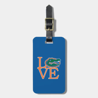 Florida Gators Love Luggage Tag