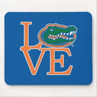 Florida Gators Love Mouse Pad