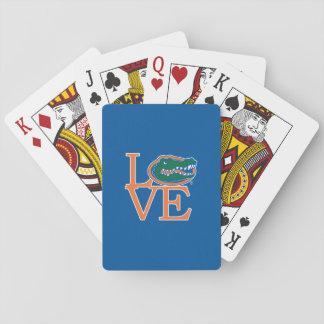 Florida Gators Love Playing Cards
