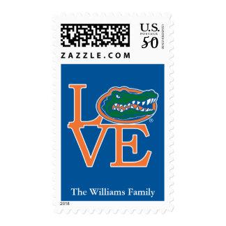 Florida Gators Love Postage