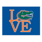 Florida Gators Love Postcard