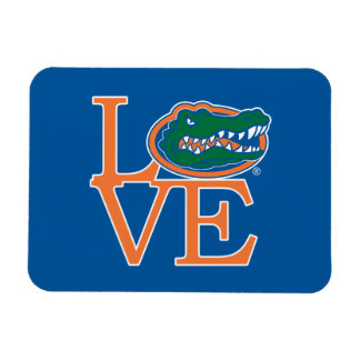 Florida Gators Love Rectangular Photo Magnet
