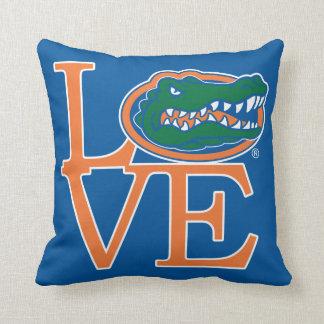 Florida Gators Love Throw Pillow
