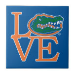 "Florida Gators Love Tile<br><div class=""desc"">Zazzle offers the most exciting and unique gear for the ultimate Florida Gator fan! All of our products are officially licensed and customizable, which makes them perfect for students, alumni, family, fans, and faculty. Whether you are gearing up for tailgating, hosting a party for a Florida fan, or decorating your...</div>"