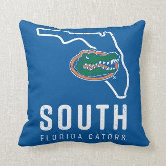 Florida Gators | South State Logo Throw Pillow