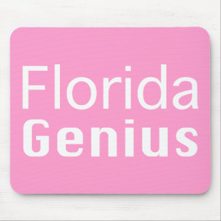 Florida Genius Gifts Mouse Pad