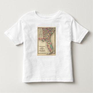 Florida, Georgia, and South Carolina 2 Toddler T-shirt