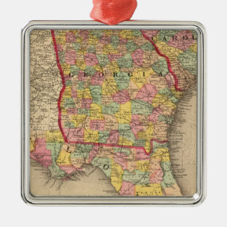 Florida, Georgia, and South Carolina Ornaments