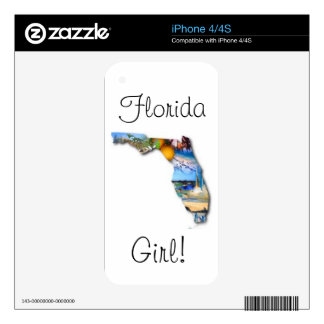 florida girl decals for iPhone 4S
