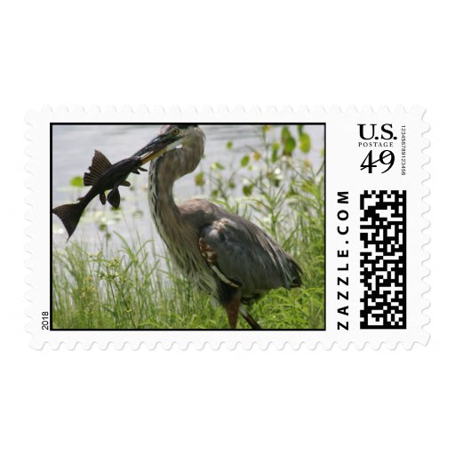 FLORIDA GREAT BLUE HERON POSTAGE STAMPS