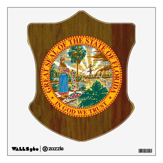 Florida Great Seal Wall Sticker