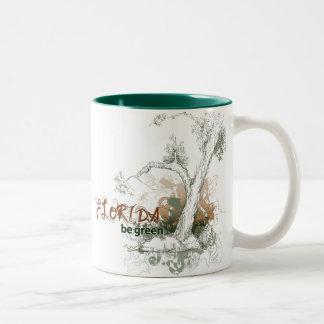 Florida Green Tree Mug