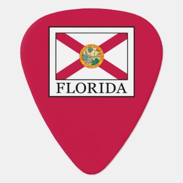 Beach Themed Florida Guitar Pick