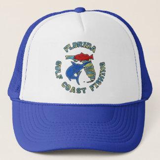 Florida Gulf Coast Fishing Trucker Hat