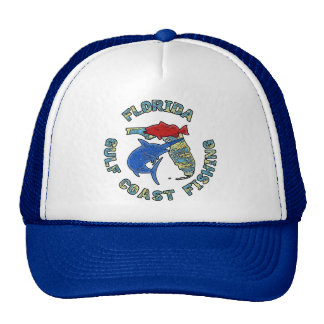 Florida Gulf Coast Fishing Trucker Hat