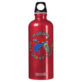 Florida Gulf Coast Fishing Water Bottle