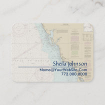 Nautical business cards nauticalboutique florida gulf coast punta gorda nautical chart business card colourmoves