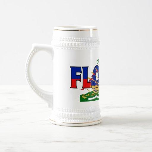 Florida-Haití Stein Taza De Café