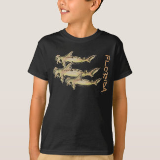Florida hammerhead shark boys shirt