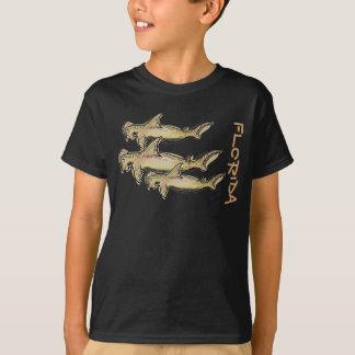 Florida hammerhead shark boys shirt