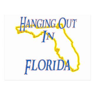 Florida - Hanging Out Postcard