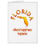 FLORIDA Happiness Card