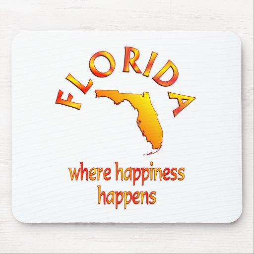 FLORIDA Happiness Mouse Pad