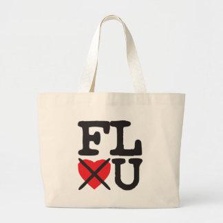 Florida Hates You Large Tote Bag