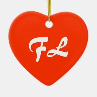 Florida Heart Ornament