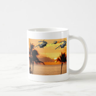Florida Helicopter Formation Classic White Coffee Mug