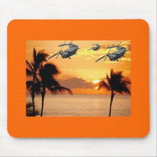 Florida Helicopter Formation Mouse Pad