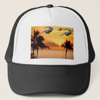 Florida Helicopter Formation Trucker Hat