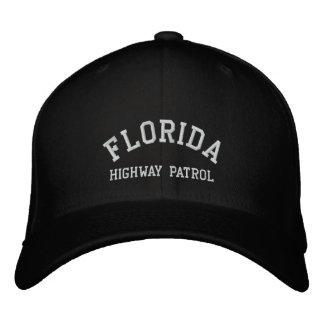 FLORIDA HIGHWAY PATROL EMBROIDERED BASEBALL CAPS