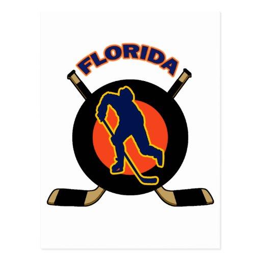 FLORIDA HOCKEY POSTCARD