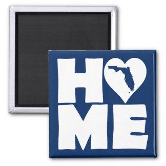 Florida Home Heart State Fridge Magnet