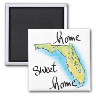 Florida Home Sweet Home Magnet