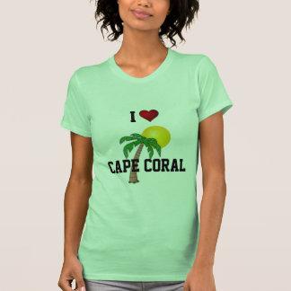Florida: I Love Cape Coral palm tree and sun T-Shirt