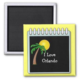 Florida: I Love Orlando Magnet