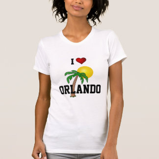 Florida: I Love Orlando palm tree and sun T Shirt