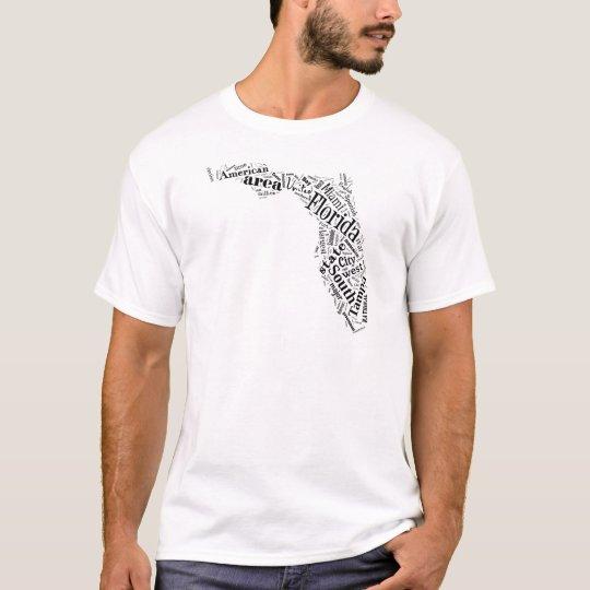 Florida in Tagxedo T-Shirt