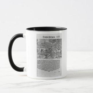 Florida Indians hunting deer Mug