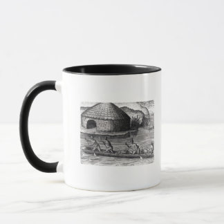 Florida Indians Storing their Crops Mug